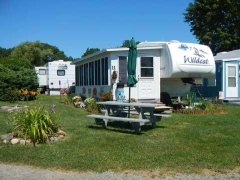 Camp Eaton Seasonal Rv Resort By The Ocean At Long Sand